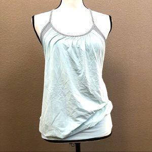 Lululemon mint dress built in bra active tank Sz 6
